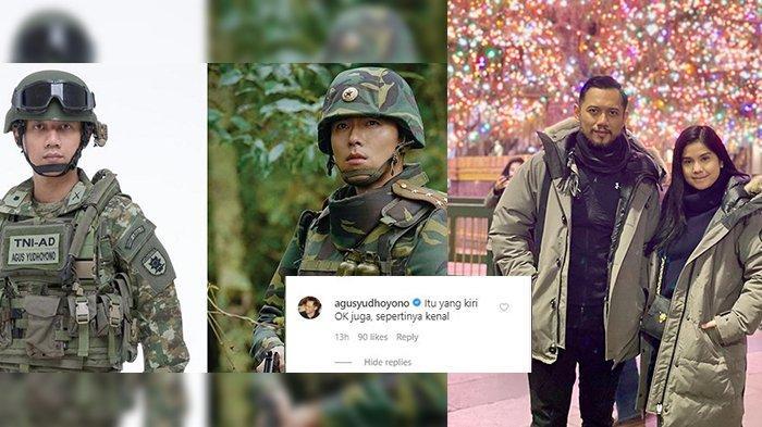 Annisa Pohan Bandingkan Potret AHY dengan Hyun Bin, Ini Tanggapan sang Suami