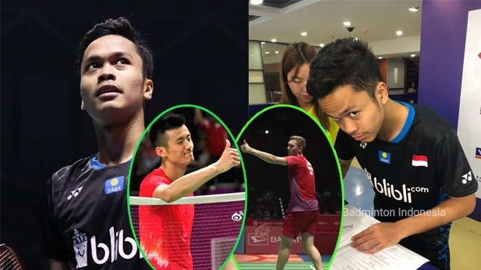 Viral Video Netting Anthony Ginting di China Open 2018, BWF Sampai Beri Julukan 'The Giant Killer'