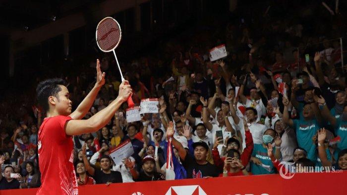 Hasil Final Indonesia Masters 2020, Anthony Ginting Persembahkan Gelar Ketiga Bagi Merah Putih