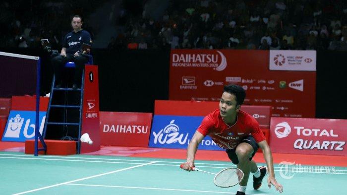 HASIL 16 Besar Thailand Open 2021: Ada Jojo & Anthony Ginting, 6 Wakil Indonesia ke Perempat Final