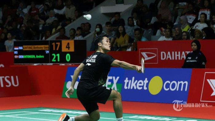 Hasil Thailand Open II 2021, Anthony Sinisuka Ginting KO Ditekuk Lee Cheuk Yiu Dalam Laga Tiga Gim