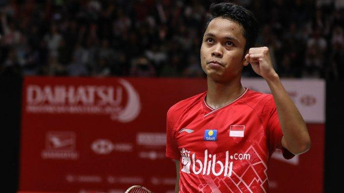 Inilah link live streaming TVRI final Indonesia Masters 2020, Minggu (19/1/2020). Ginting akan menghadapi wakil Denmark, Anders Antonsen, hari ini.