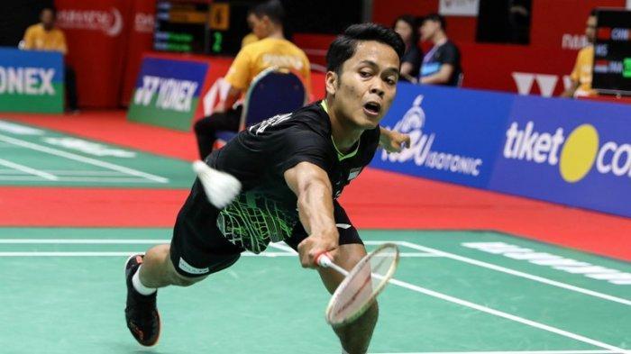 Anthony Sinisuka Ginting ke Semifinal Lantaran Berhasil Jalankan Instruksi Pelatih