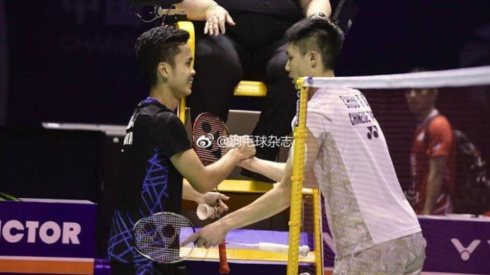 LIVE STREAMING BWF World Tour Finals, Link TVRI di Sini, Laga Panas Ginting vs Chou Tien Chen
