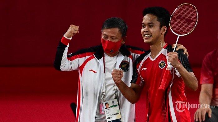 Hasil Thomas Cup 2021 - Sumbang Poin Indonesia, Ginting Bongkar Resep Kalahkan Chou Tien Chen