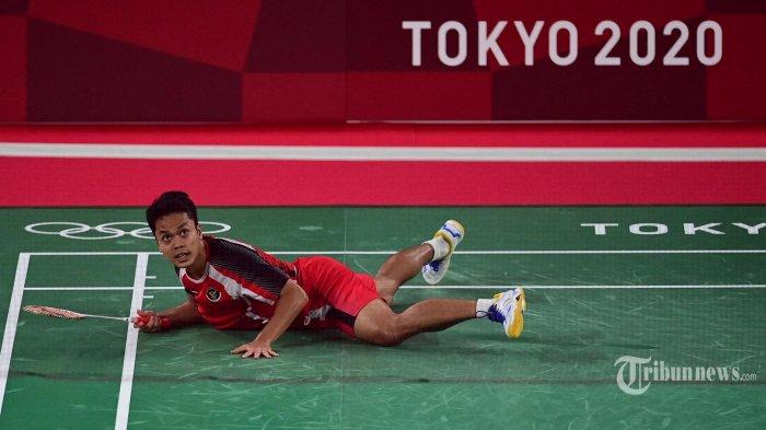 Joko Suprianto: Anthony Ginting Didikte Chen Long Sampai Jatuh Bangun di Semifinal Olimpiade