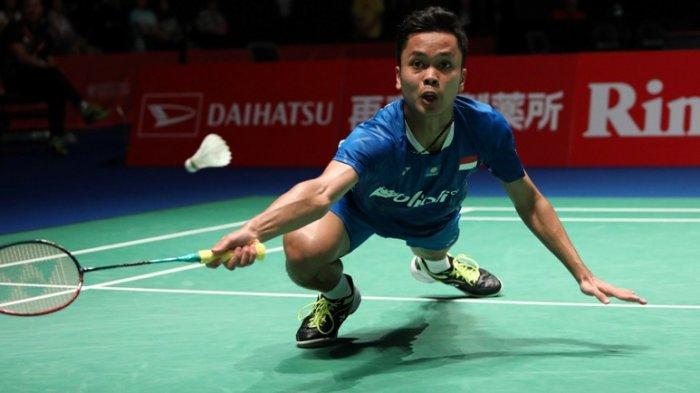 Anthony Sinisuka Ginting  Jadi Atlet Pertama Indonesia yang Menang di #ChinaOpenSuper1000