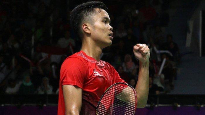Sukses Kalahkan Lin Dan, Anthony Ginting Bukukan 2 Rekor Ini di China Open 2018