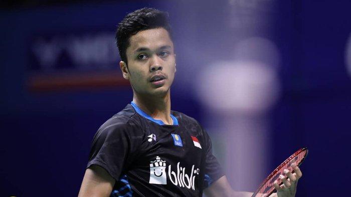 Hasil Final China Open 2018, Tumbangkan Kento Momota, Anthony Ginting Juara!