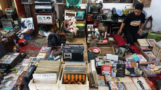 Pasar Kangen Yogyakarta Membawa Nostalgia Era 1960-an, Pas untuk Pemburu Barang Antik