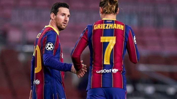 SUSUNAN PEMAIN & Live Streaming Barcelona vs Valencia: Coutinho, Messi dan Griezmann Main Bareng