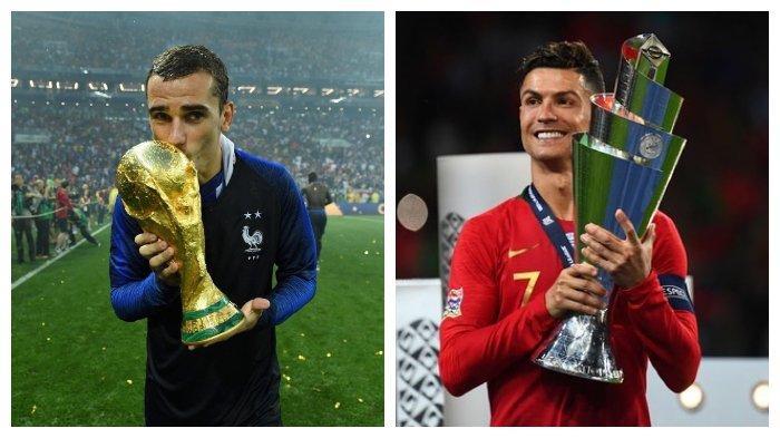 Susunan Pemain Portugal vs Prancis di Euro 2020: Ancaman Griezmann, Ronaldo Buru Rekor Baru