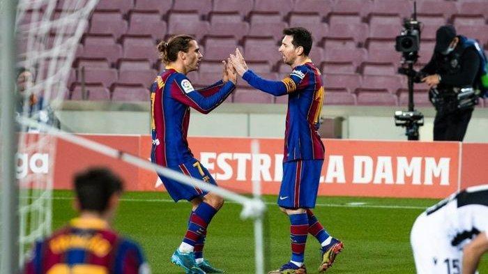 SEDANG TAYANG Live Streaming Barcelona vs Celta Vigo, Duet Messi-Griezmann Tentukan Nasib Blaugrana