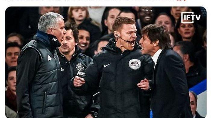 Keributan Jose Mourinho Vs Antonio Conte di Inggris Berlanjut ke Liga Italia?