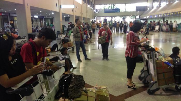 Penumpang Lion Air Ngamuk di Counter Check In Bandara ...
