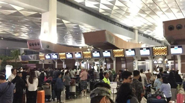 Sempat Error, Sistem Check-In Terminal 3 Bandara Soetta Kembali Normal