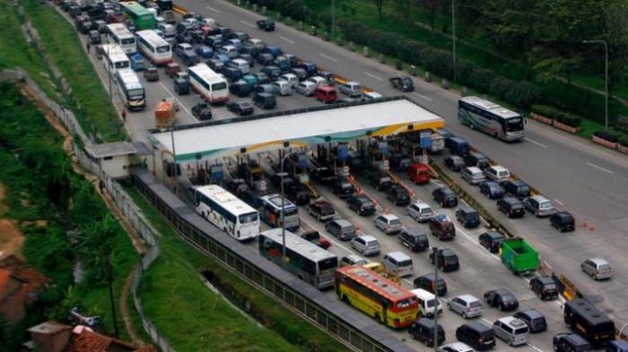 Sudah 248.864 Kendaraan yang Lintasi Gerbang Tol Cikampek
