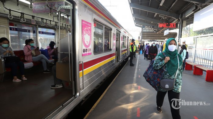 Jadwal Perjalanan KRL dan Bus Transjakarta Saat Idul Fitri