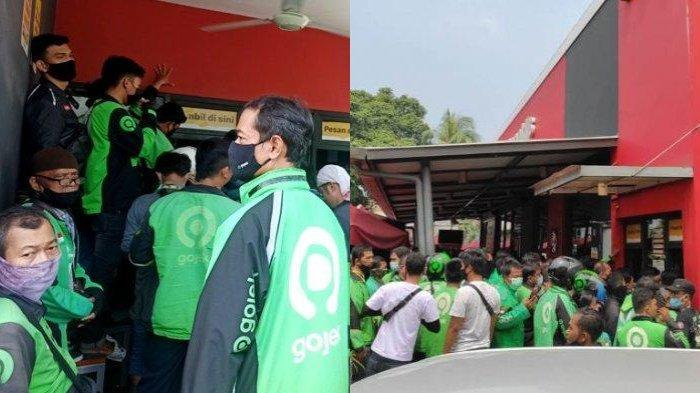 Demi Orderan BTS Meal di McDonalds Medan, Driver Ojol Berdesak-desakan Sampai Panjat Bangku