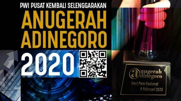 Atal S Depari: Anugerah Jurnalistik Adinegoro Penghargaan untuk Karya Jurnalistik, Yuk Ikutan