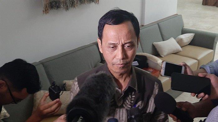 Direktur Jenderal Pencegahan dan Pengendalian Penyakit Kementerian Kesehatan RI, Dr. Anung Sugihantono M.Kes di Kementerian Kesehatan, Jakarta Selatan, Rabu (27/11/2019).