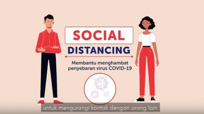 Jokowi Unggah Video Soal Sosial Distancing