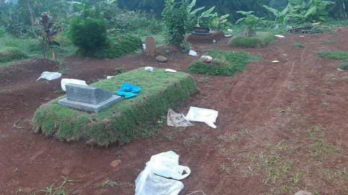 Sampah APD Berserakan di Pemakaman Pondok Rajeg, Kapolsek Cibinong Buka Suara