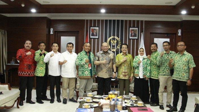 Terima Audiensi Apdesi, DPD RI Bahas Pentingnya Tingkatan Pengelolaan Dana Desa