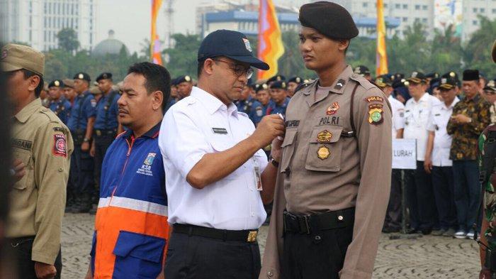 Pimpin Apel Akbar Operasi Siaga Ibu Kota, Pesan Anies Posko Bencana Harus Siaga 24 Jam