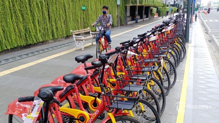 Layanan Gowes Bike Sharing Dapat Digunakan di 6 Titik Ini