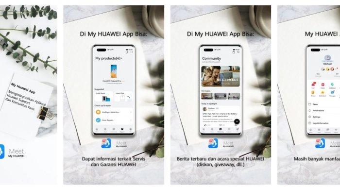 Aplikasi My Huawei Terbaru Kini Ada Pembaruan, Terintegrasi ke Toko Online dan Community