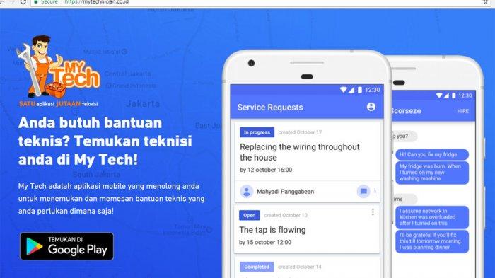 Mengenal MyTech, Aplikasi Penyedia Teknisi Service Parabot Rumah Tangga