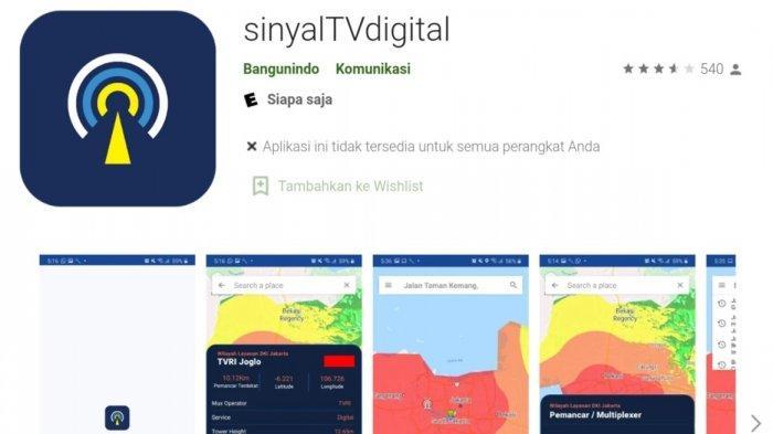 Cara Cek Sinyal Televisi Digital Melalui Aplikasi, Dapat Diunduh Via Play Store dan App Store