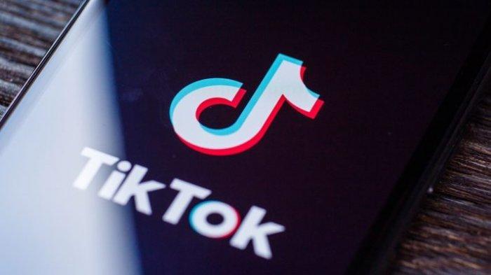 Aplikasi Tiktok di smartphone.