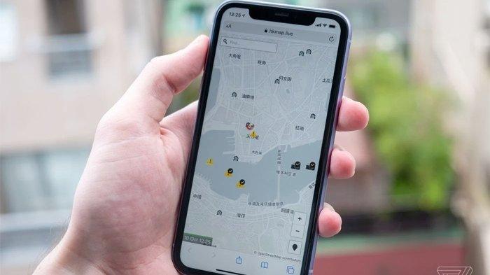 Apple memblokir aplikasi yang dapat melacak polisi, yaitu HKmap.live.