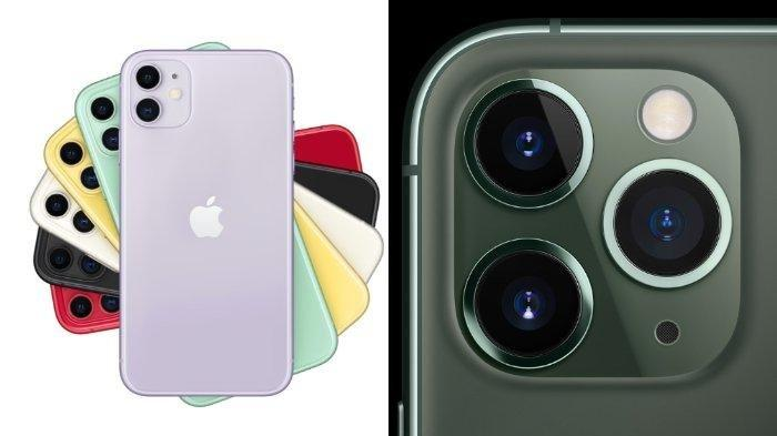 Smartphone Apple iPhone 11 dan iPhone 11 Pro.(Apple.com)