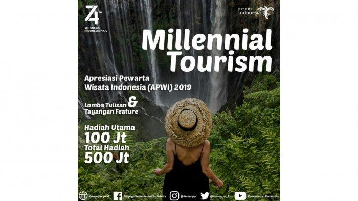 Pendaftaran Lomba Anugerah Pewarta Wisata Indonesia (APWI) 2019 Diperpanjang