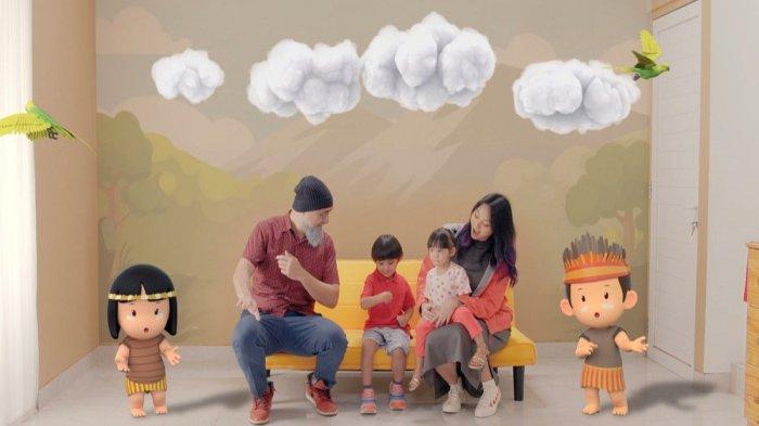 Pintar Matematika Lewat Lagu-lagu Anak di Program Sofa Kuning Mola TV