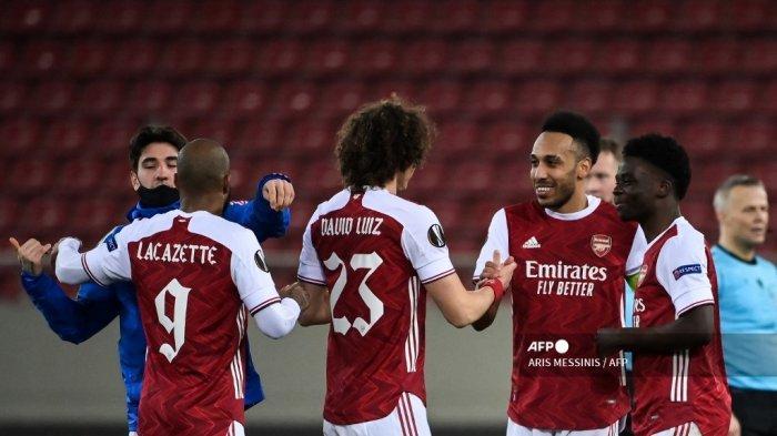 HASIL LENGKAP Liga Eropa Tadi Malam & Daftar Tim yang Lolos ke 16 Besar: MU, Arsenal hingga AC Milan