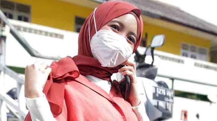Arafah Rianti ketika ditemui di gedung Trans TV, Jalan Kapten Tendean, Mampang Prapatan, Jakarta Selatan, Selasa (26/1/2021).