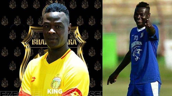 Bhayangkara FC Upayakan Ezechiel NDouassel Bisa Main Lawan Persib Bandung di Jakarta
