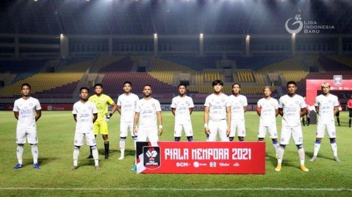 Hasil BRI Liga 1 2021 - Gagal Tundukkan PSIS Semarang, Rekor Buruk Arema FC Berlanjut