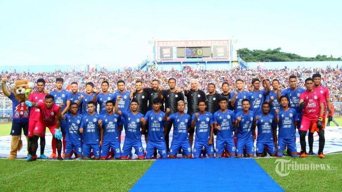 Bursa Transfer Liga 1 2020 Ditutup, Ini Daftar Resmi 29 Pemain Arema FC Musim Ini