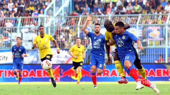 Arema FC Akhiri Kontrak Matias Alderete dan Matias Malvino Jelang Liga 1 2020 Bergulir