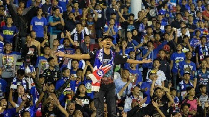 Aremania siap bernyanyi kencang dalam final Piala Presiden Arema vs Persebaya