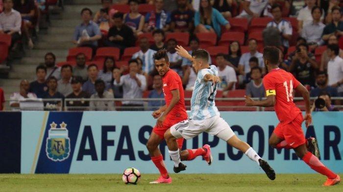 Argentina Gilas Singapura 6-0