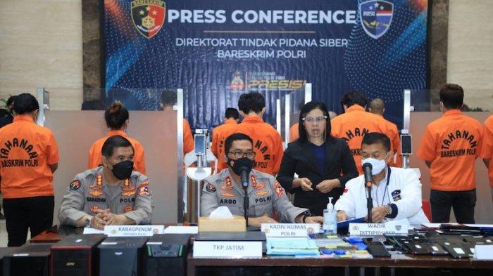 19 Remaja Susupi Iklan Judi Online di Ratusan Situs Pemerintahan Ditangkap Polisi