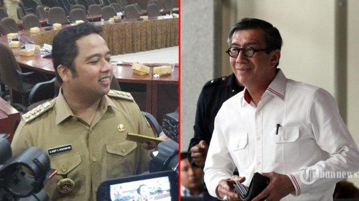 Wali Kota Tangerang, Arief R Wismansyah - Menkumham Yasonna Laoly