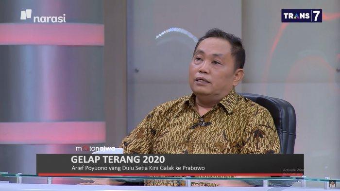 Politisi Partai Gerindra, Arief Poyuono