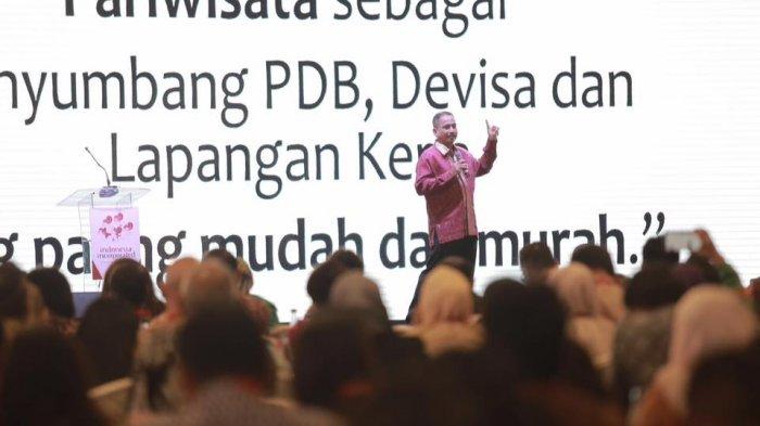 Menpar Arief Yahya Sampaikan Quick Win Pariwisata Indonesia 2017